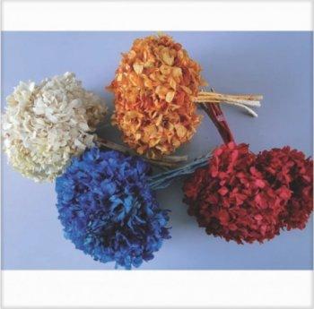 Flor Hortensia para Decoração c/ aprox. 20cm de diametro