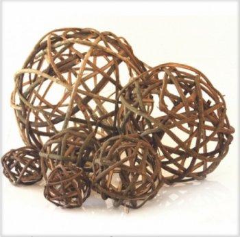 Bola Decorativa de Cipó 10 cm